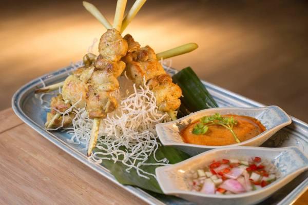 Food at Na Nirand Resort Chiang Mai