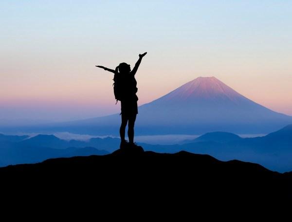 Hike Mt Fuji in Japan