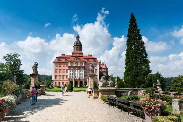 Ksiaz Castle in Lower Silesia
