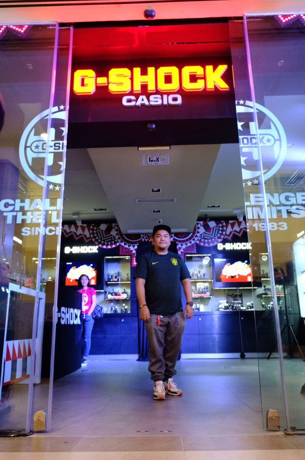 New G-Shock Shop at Ayala Vertis North Mall