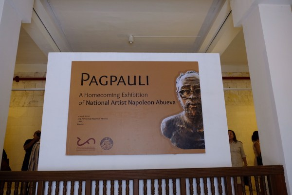 Pagpauli - A homecoming exhibition of National Artist Napoleon Abueva