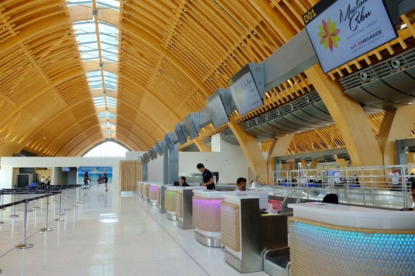 Resort inspired airport Check-in Counters
