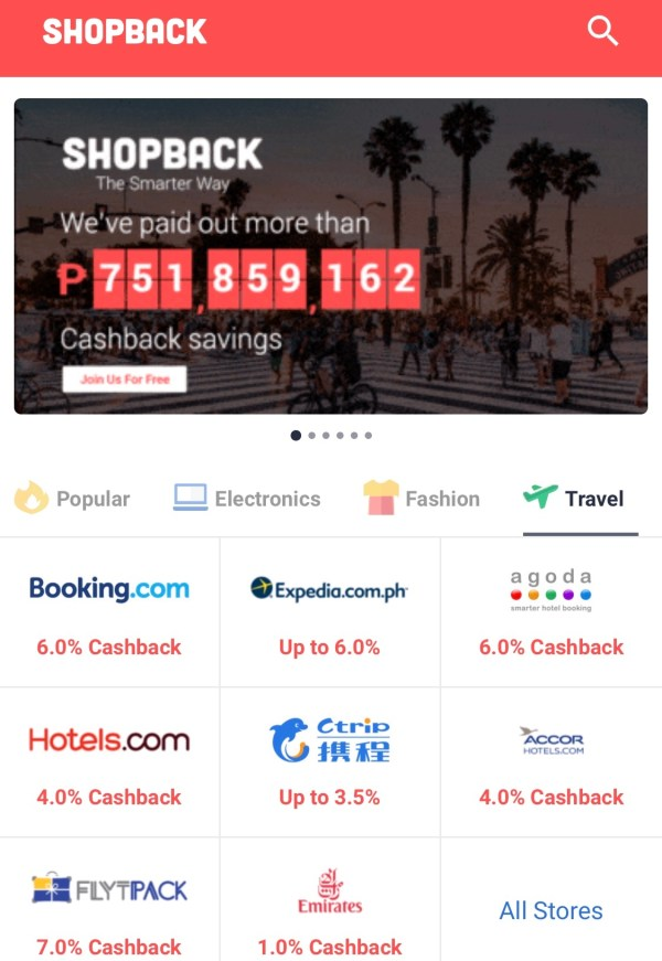 ShopBack Travel Promos To Catch This Year End Sale