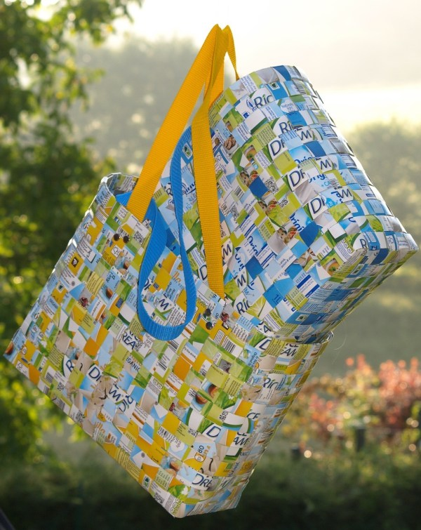 Shopping Bags made from Recycled Plastic