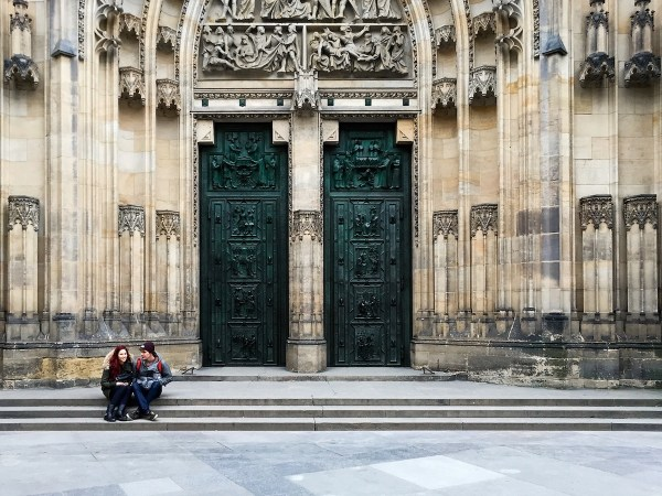 St St Vitus Cathedral in Prague
