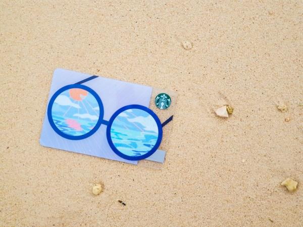 Starbucks Summer Shades Lifestyle Card