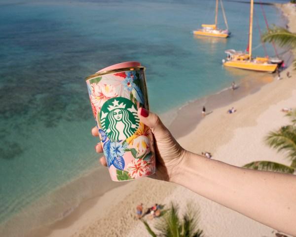 Starbucks ban.do Double Walled Traveller Mug
