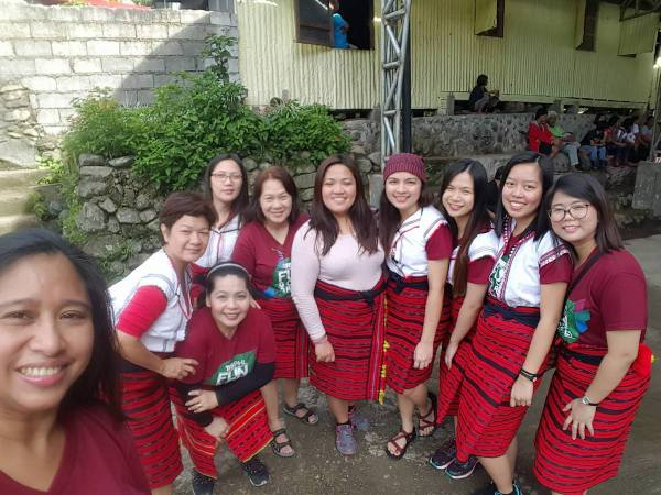 TPB and participants in Cambulo Village