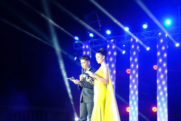 The Hosts of Miss Bohol 2018