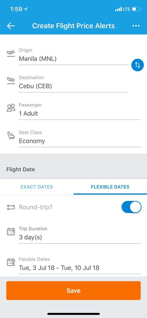 Traveloka Cheap Flight Price Alerts