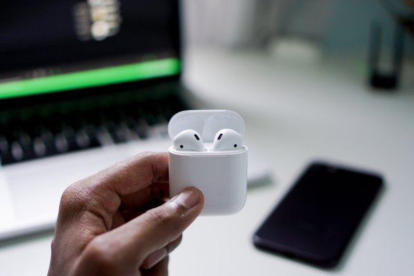 Apple AirPods photo by Suganth via Unsplash