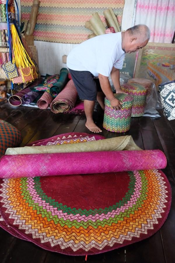 Banig Merchant in Basey Samar