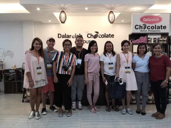 Bloggers at Dalareich Chocolate House
