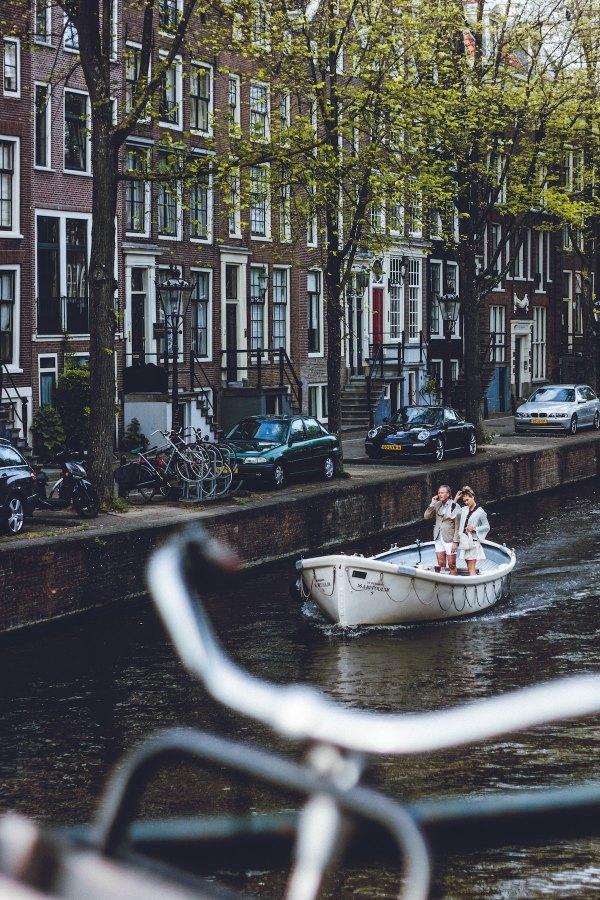 Boat Tour Amsterdam photo by Laura Thonne via Unsplash