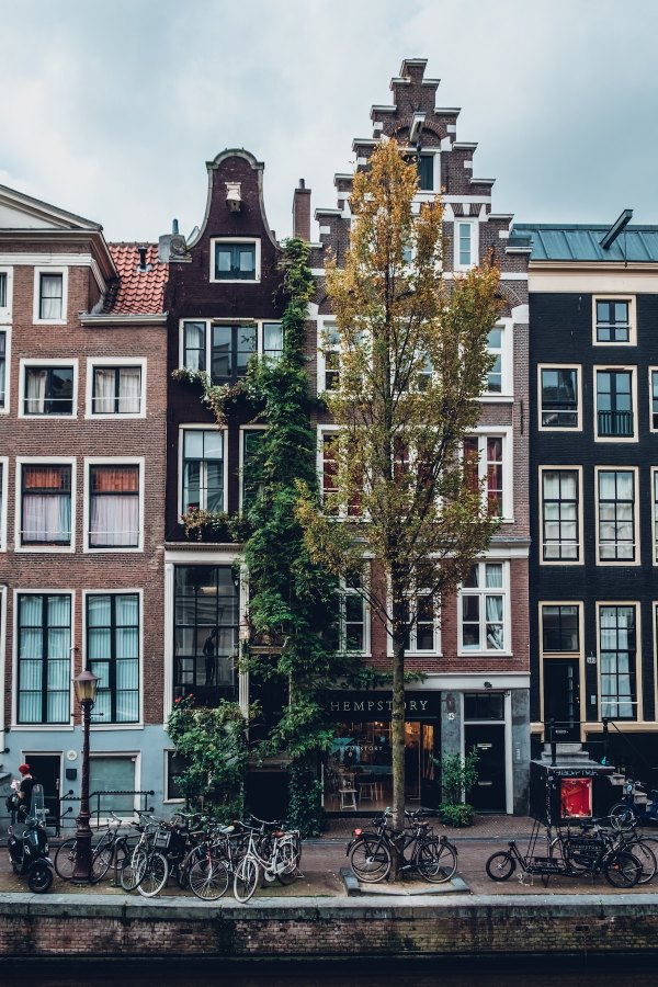 Buildings in Amsterdam photo by @robinoode Robin Benzrihem via Unsplash
