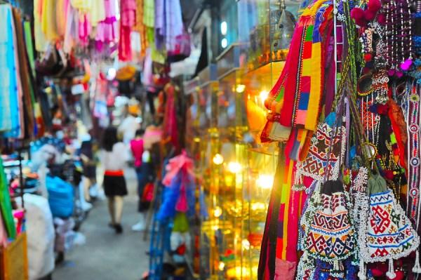Chatuchak weekend market in Bangkok Thailand