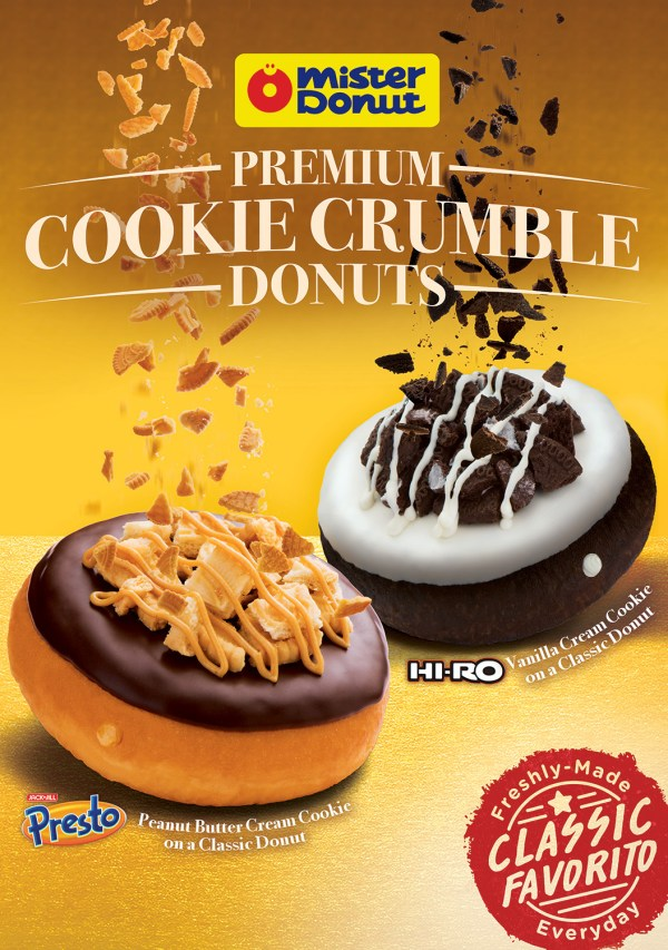 Cookie Crumble Donuts