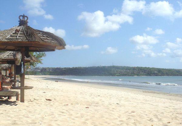 Jimbaran Beach by PHGCOM via Wikipedia