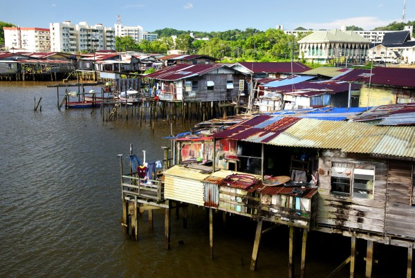 Kampong Ayer photo by Bernard Spragg