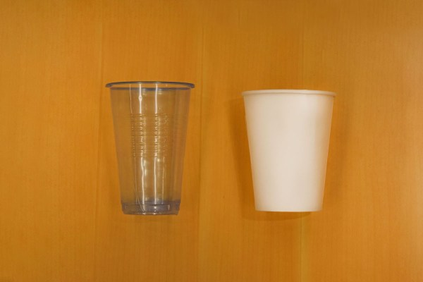 (L-R) Old and New regular cup