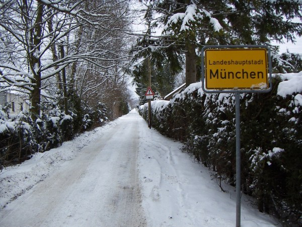 Munich Winter Photos