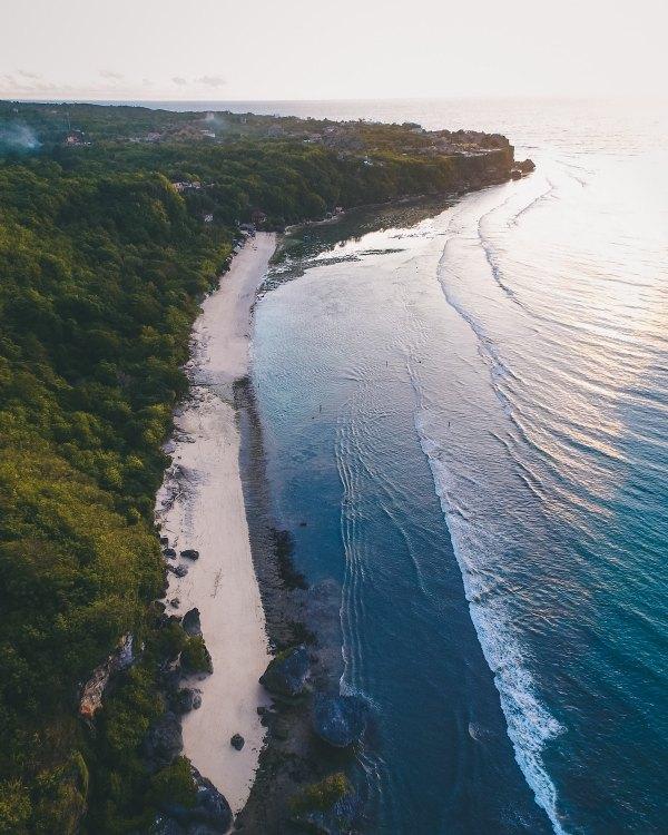 Padang Padang Beach by Oliver Sjostrom via Unsplash