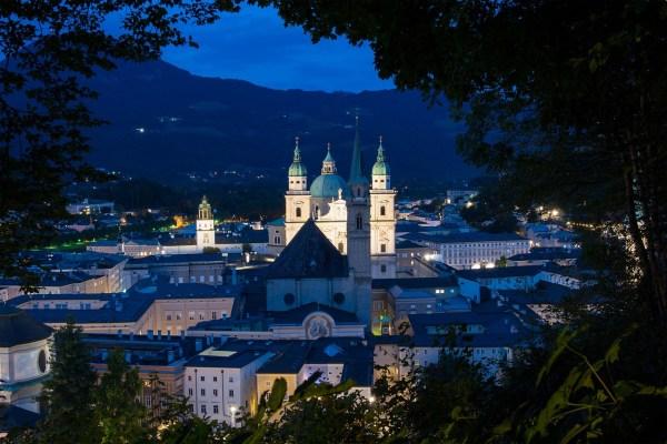 Salzburg Austria Downtown