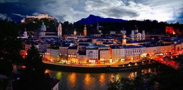 Salzburg Nightscape