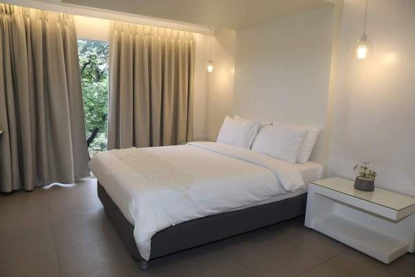 Standard room at Le Blanc Hotel