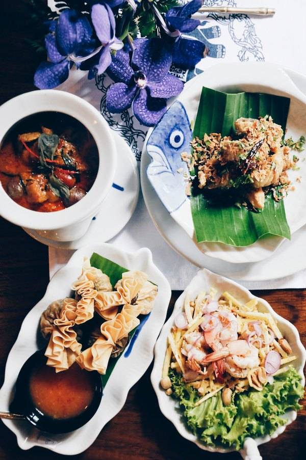 Thai Food photo by Alex Block via Unsplash