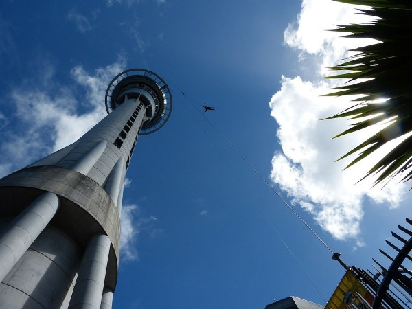 Auckland Sky Tower Bungee Jump