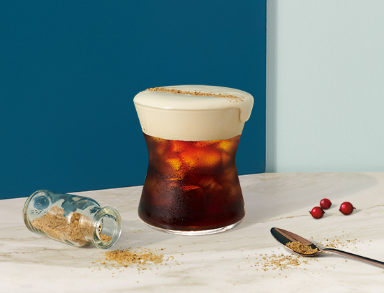 Cascara Cold Foam Cold Brew