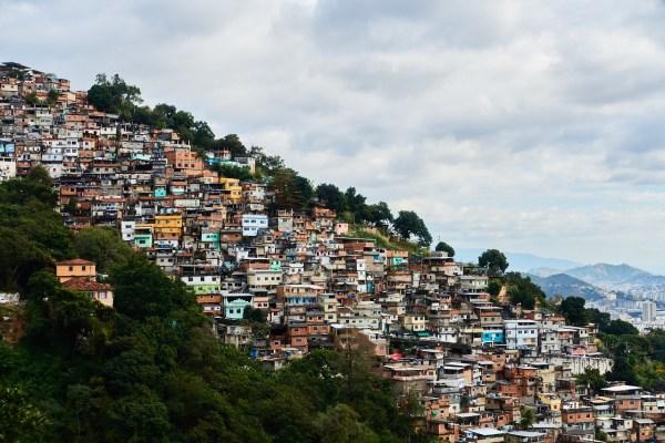 Favela Rio de Janeiro Brazil