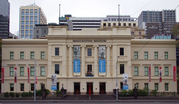 Immigration Museum Melbourne photo by Kensarlance via Wikipedia CC
