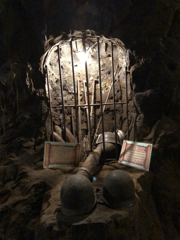 Japanese Weapons inside Ilagan Japanese Tunnel