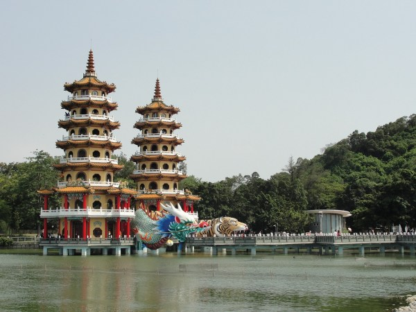 Lotus Pond in Kaohsiung