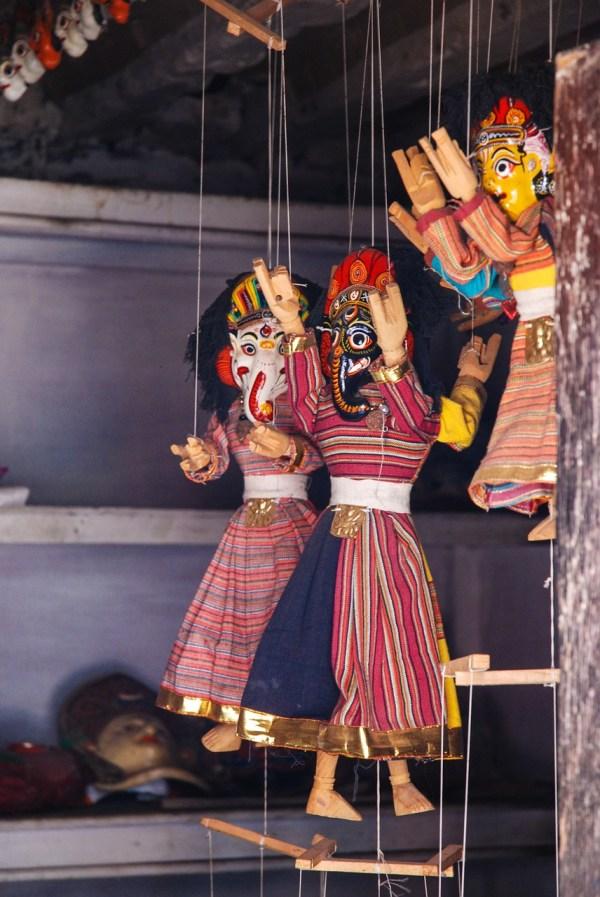 Nepal Puppets