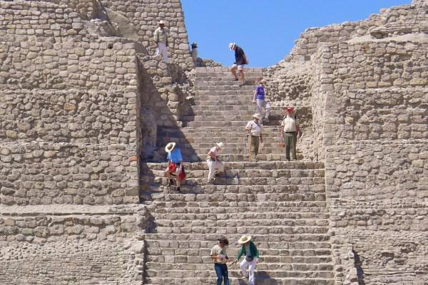 Pyramids Canada de la Virgen photo by Devora Resnick via Flickr CC
