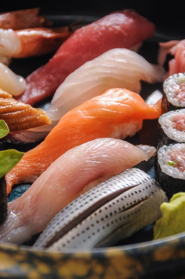 Rolled and open-faced sushi will only taste best with the freshest ingredients.