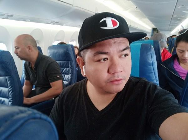Selfie - Flight to Calbayog City