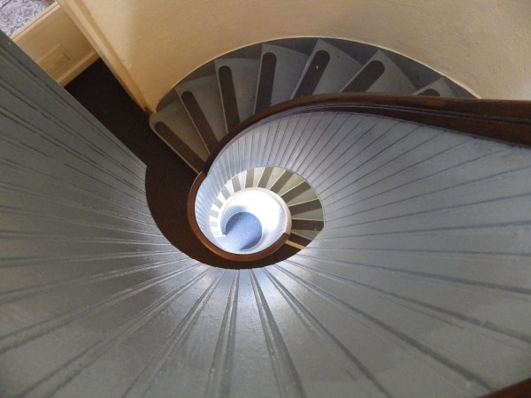 Spiral Staircase at Cabrillo National Monument