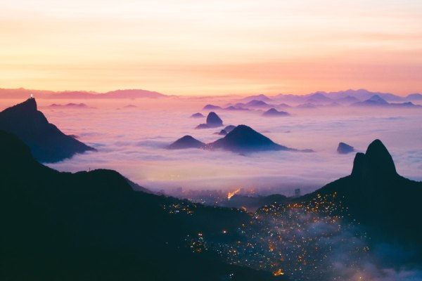 Sugarloaf Mountain Sunset by Noah Cellura via Unsplash