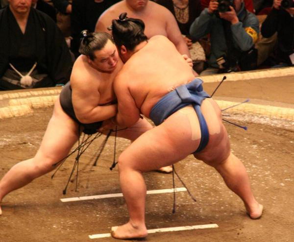 Sumo Match by Eckahard Pecher via Wikipedia CC