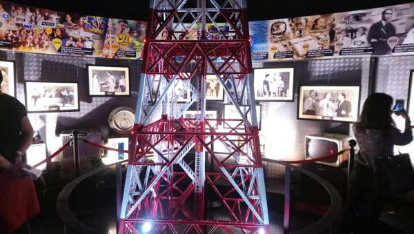 The replica of ABS-CBN Studio Transmitter