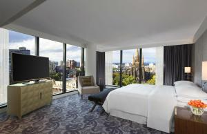 Treasury Gardens Terrace Suite Sheraton Melbourne Hotel