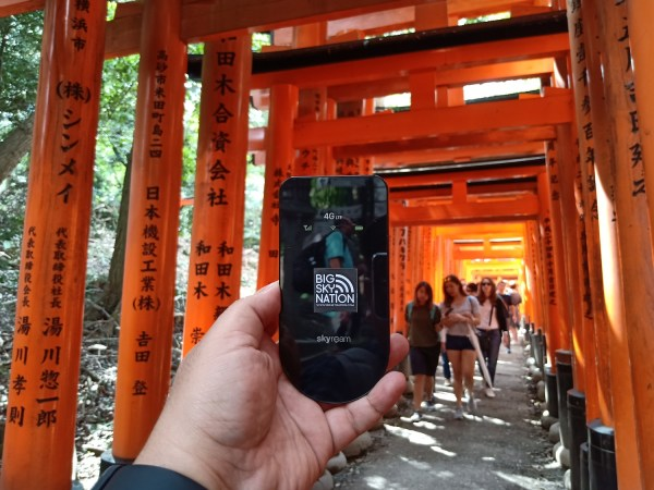 Big Sky Nation Skyroam Hotspot Pocket WIFI in Japan
