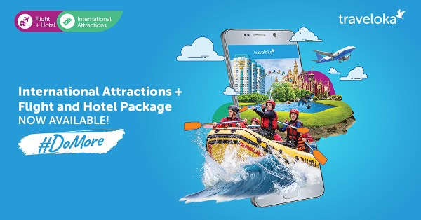 #DoMore and visit your Dream Destinations with Traveloka