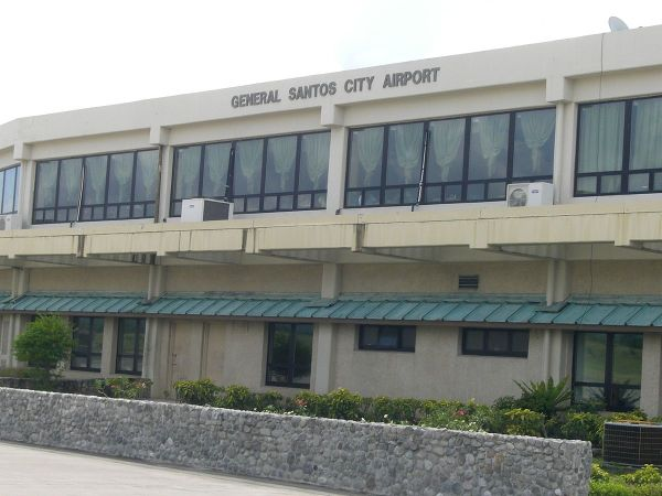 General Santos International Airport by Bluemask via Wikipedia CC
