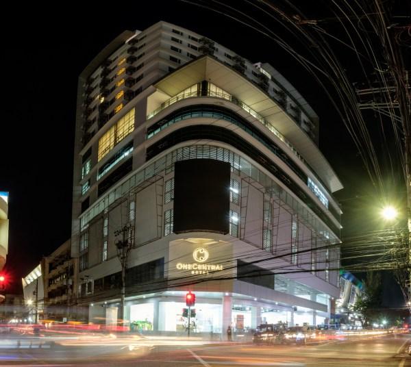 One Central Hotel Facade