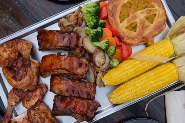 Our Dinner at Three Broomsticks Restaurants